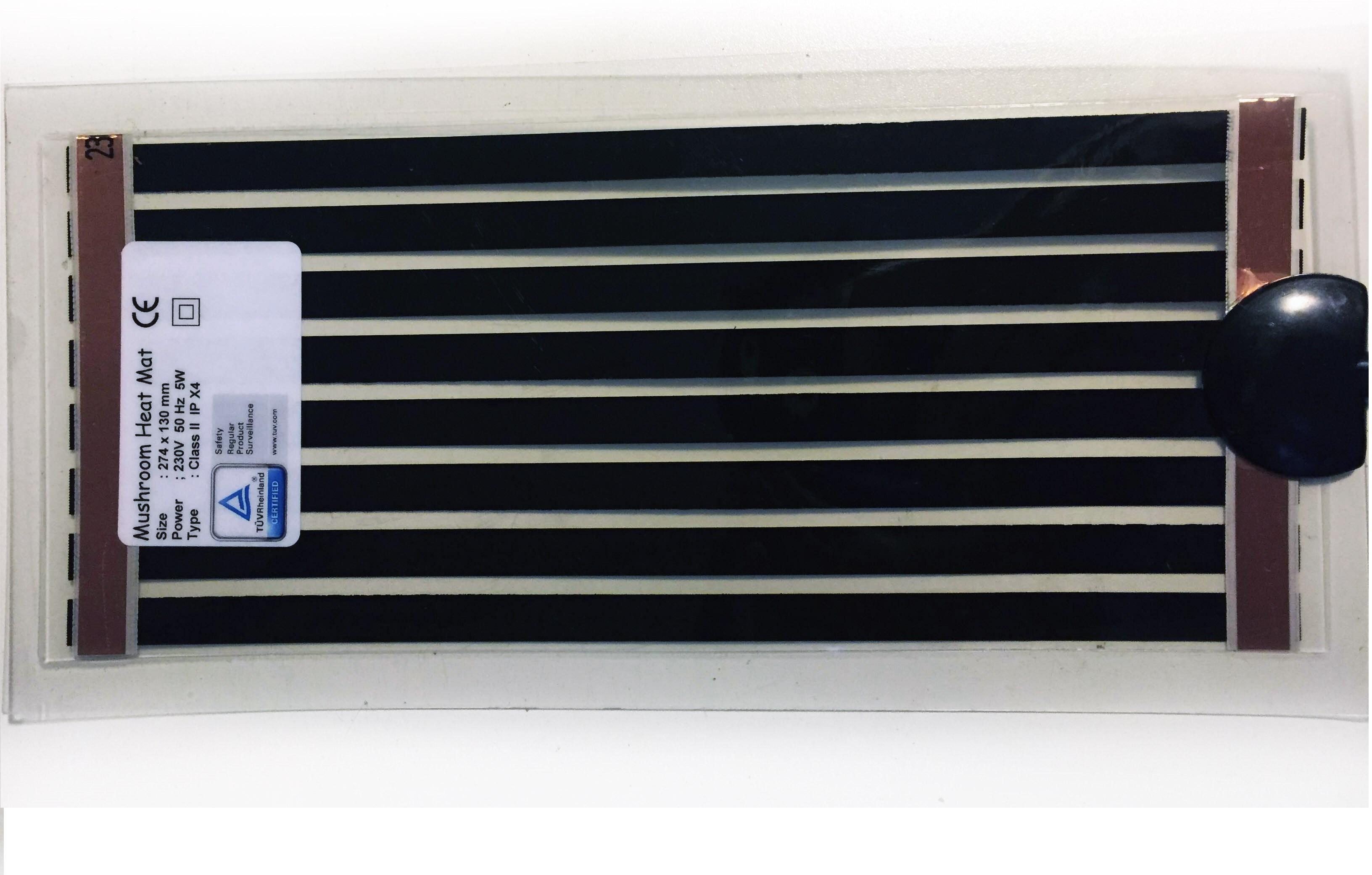 manta electrica calefactora 5w para cultivo de setas